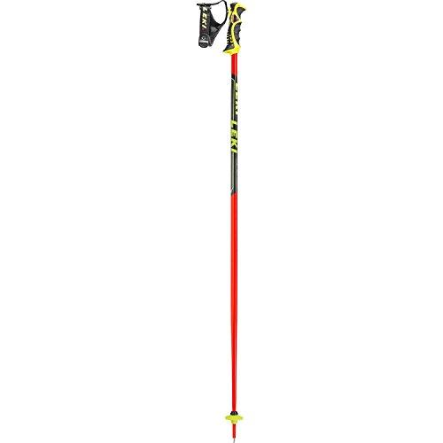 LEKI Worldcup Sleeveless-TBS Skistöcke, Rot/Schwarz, 110 cm