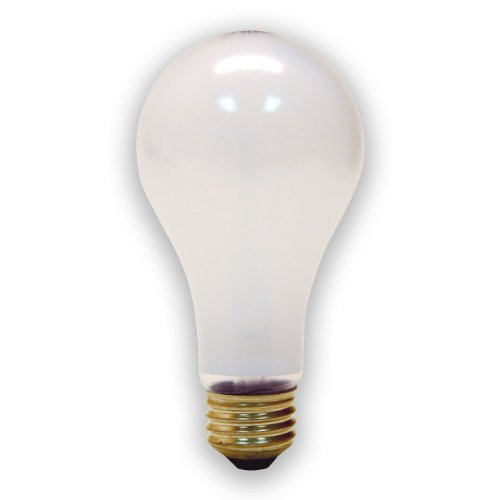 GE Lighting 72532 150-Watt A21 Rough Service Garage Lighting Bulb, 1-Pack