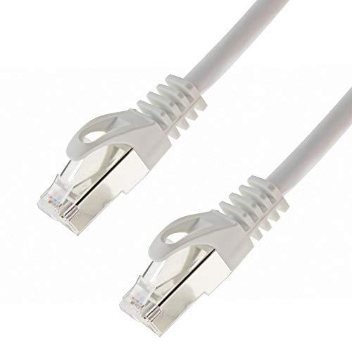 SeKi Ligawo - Cable de Red S/FTP PIMF (Cat. 7, 0,25 m),...