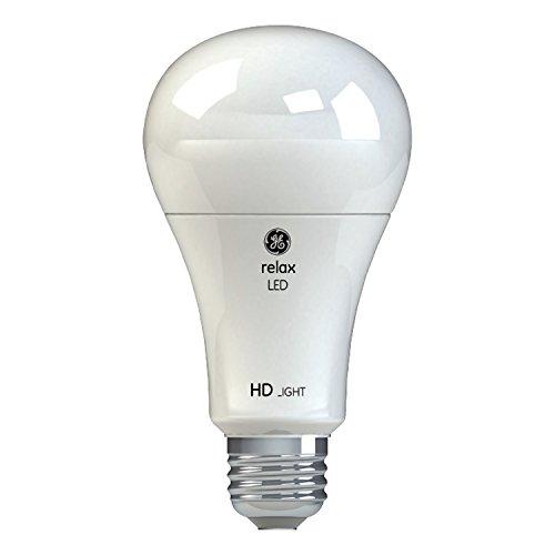 GE Lighting 46226 Relax HD LED 3-Way 30/70/100-Watt Replacement A21 Light Bulb Medium Base, California Resident, Soft White