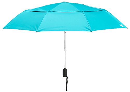 Coolibar UPF 50+ 42 Inch Sodalis Travel Umbrella - Sun Protective (One Size- Cooliblue)