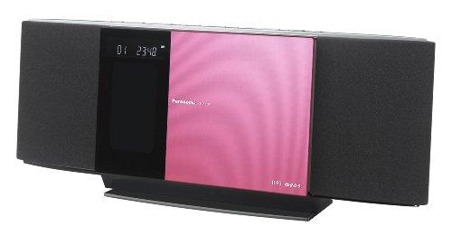 Panasonic SC-HC30EG-P Kompaktanlage (iPod/iPhone Dock) pink