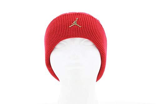 Nike Erwachsene Mütze Jordan Einheitsgröße Rot/Gold (Gym red/Metallic Gold)