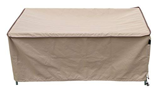 "SORARA Rectangular Coffee/Side/End Table Cover Outdoor Porch Ottoman Table Cover, Water Resistant, 48"" L x 30"" W x 18"" H"