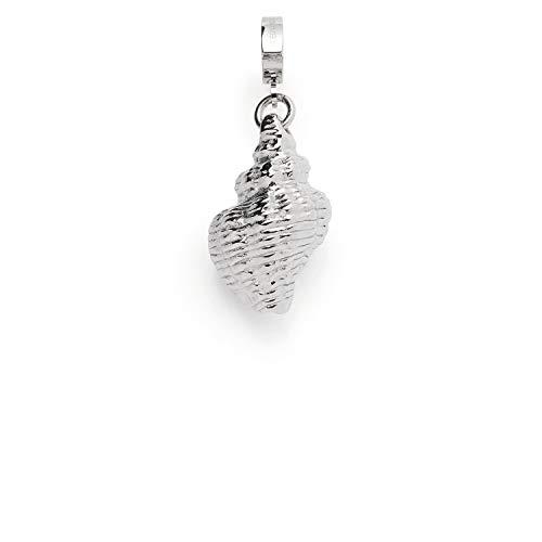 Jewels by Leonardo 017977 Kettenanhänger - Adria - Clip & Mix - Edelstahl - 1,3x3,5x1cm