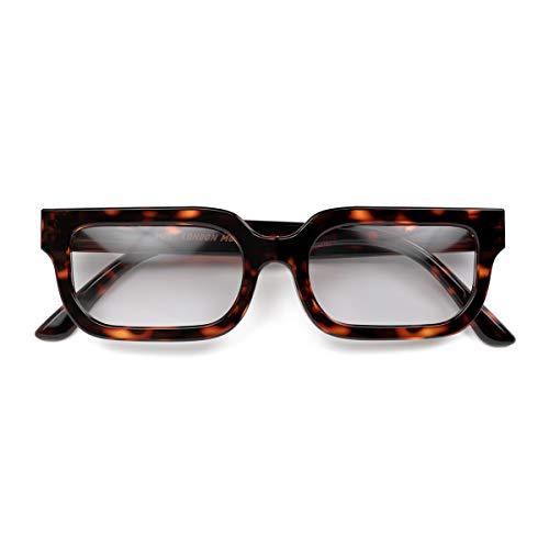 LONDON MOLE Eyewear | ICY Lesebrille | Cool Leser | Herren Damen Unisex | Glänzende Schildpatt | +2,5