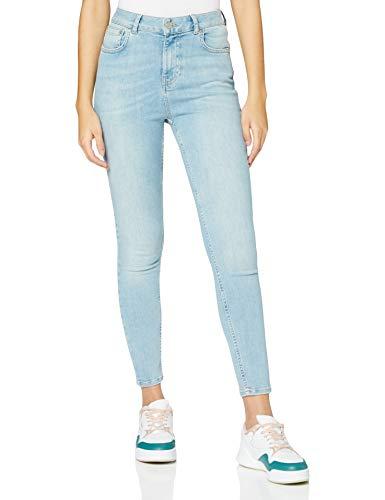 Superdry Damen HIGH Rise Skinny Jeans, Blau (Light Indigo Vintage O3O), 26W / 28L