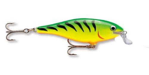 Rapala Shad Rap 09 señuelo de Pesca, 8.89 cm, Firetiger
