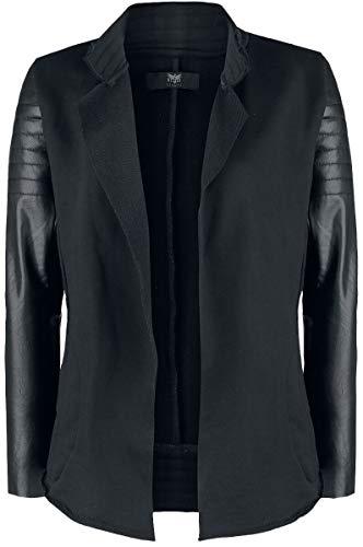 Black Premium by EMP Cardigan im Biker-Look Frauen Cardigan schwarz XL