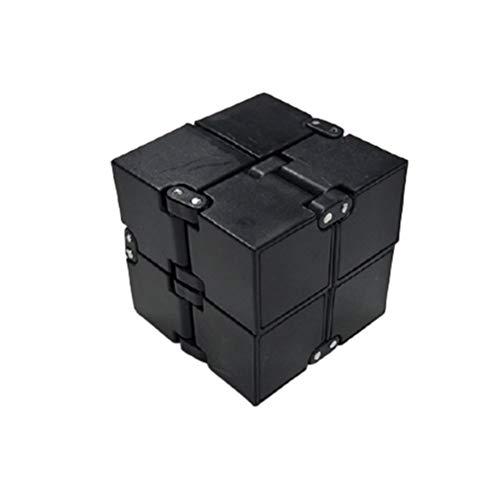 YUEQI Fidget Infinity Cube Mini Würfel Zappelspielzeug Magic Unendlicher Flip Würfel Dekompression Spielzeug für Stress und Angst Linderung Entspannendes Spielzeug