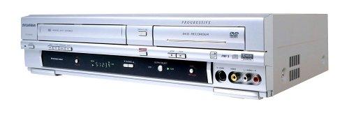 Sylvania DVR-90VG Progressive Scan DVD Recorder/VCR Combo