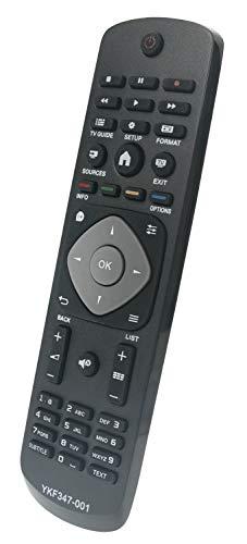 ALLIMITY 996590009359 Remplacement de la télécommande pour Phlips FHD LED TV 22PFK4000 40PFT4101 48PFK4100 50PFH4009/88 55PUT4900/60 32PHH4319/88 40PFK4309/12 47PFK4109/12 50PFH4109/88