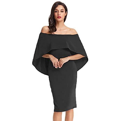 GRACE KARIN Mujeres Sin Tirantes Mini Bodycon Vestidos de CóCtel Vestidos de Noche Club de Fiesta Vestido de Boda M CLAF39-1