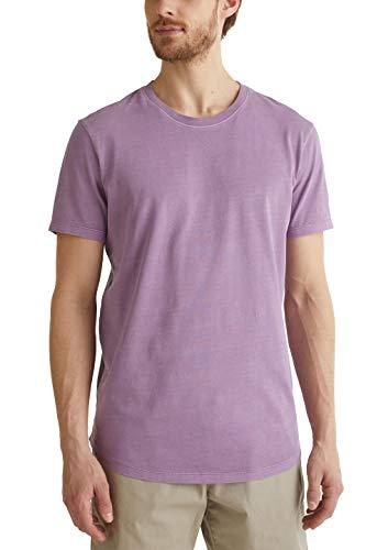edc by Esprit Herren 050CC2K315 T-Shirt, 560/LILAC, L