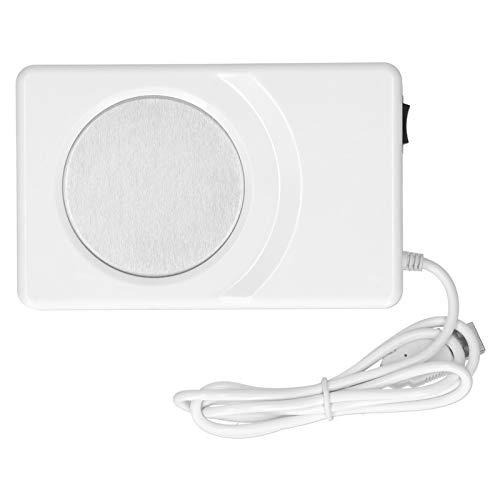 bizofft Posavasos eléctrico, con Interfaz USB, Posavasos de enfriamiento de calefacción, Alta Seguridad, enfriamiento Duradero de calefacción para Oficina, Tazas de Fondo Plano,