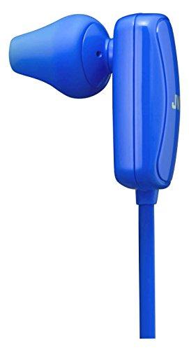 JVC Bluetooth Sport In-Ear Kopfhörer für kabellosen Musikgenuss, blau