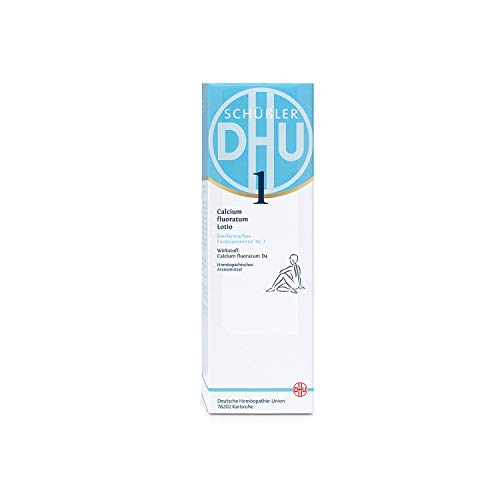 DHU Schüßler 1 Calcium fluoratum Lotio Creme, 200 ml Creme