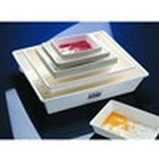 Bürkle 4201-2430 Laborschale, PP, Innen Länge x Breite, 240 mm x 300 mm, 3 L, Weiß