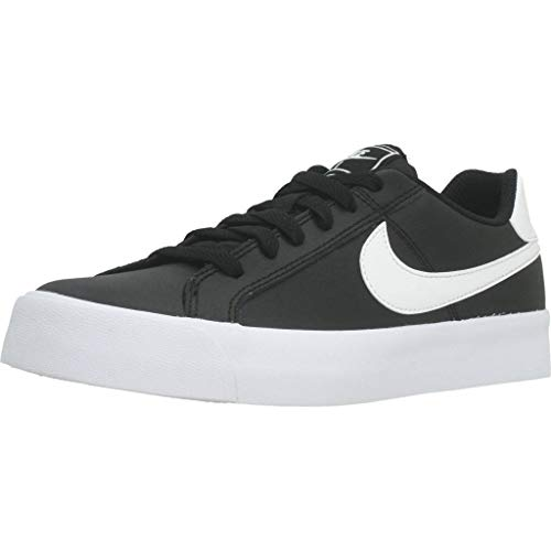 Nike Court Royale AC, Zapatillas Mujer, Negro (Black/White 001), 37.5 EU