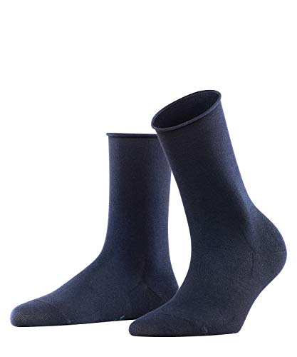 FALKE Damen Socken Active Breeze, Lyocellmischung, 1 Paar, Blau (Dark Navy 6379), 39-42
