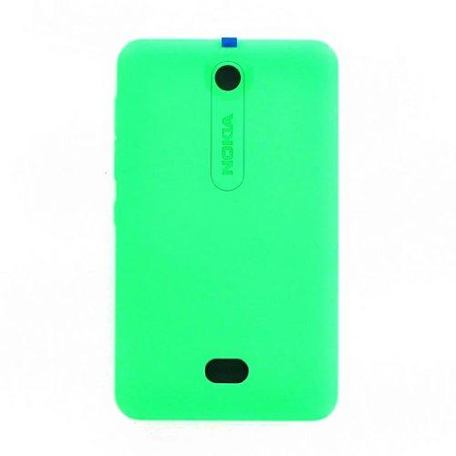 Copri batteria di ricambio ORIGINALE NOKIA Back Cover di colore VERDE per Nokia Asha 501 disponibile in bulk senza confezione