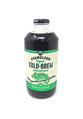 Chameleon Cold-Brew Organic Coffee Concentrate, Black, 32 oz