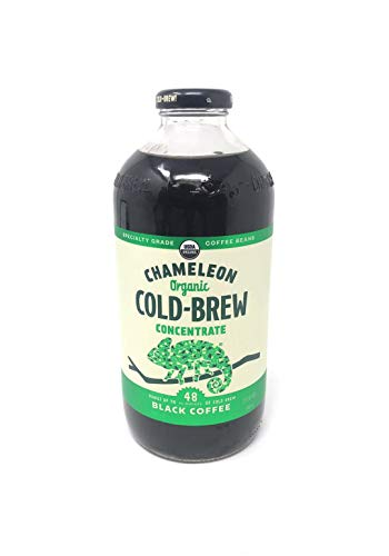Chameleon Cold-Brew Organic Coffee Concentrate, Black, 32 oz