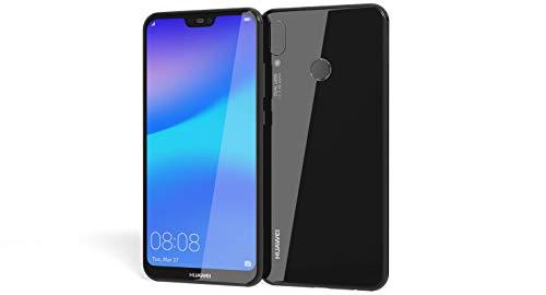 "Huawei P20 Lite 64GB Midnight Black, Dual Sim, 5.84"" inch, 4GB Ram, (GSM Only, No CDMA) Unlocked International Model, No Warranty"