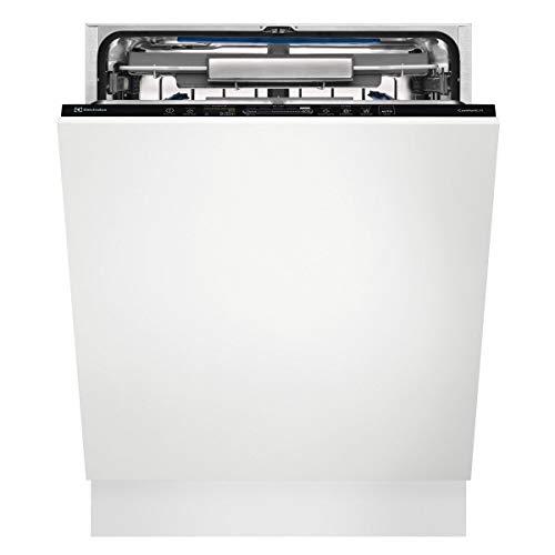 Lave vaisselle encastrable 60 cm Electrolux EEC87300L - Lave vaisselle tout integrable - Tiroir à couvert - Classe énergétique A+++ / Affichage temps restant - Départ différé