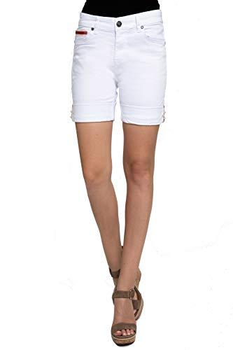 Zhrill Dames Shorts Jeans 5 Pocket Vintage Slim Fit Nova