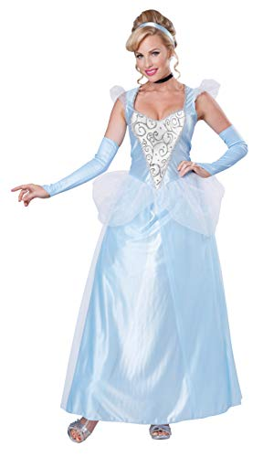 California Costume - 01345 - Déguisement Princesse Cindy - Femme - Bleu - L