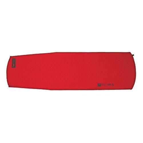 Highlander Outdoor Trek Lite Self Inflate Mat, Large, Red/Grey