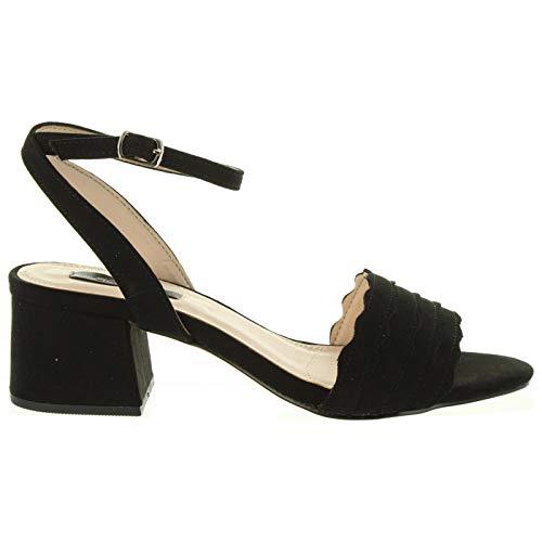 Sandalias de Mujer CHIKA10 Anya 12 Negro Talla 40