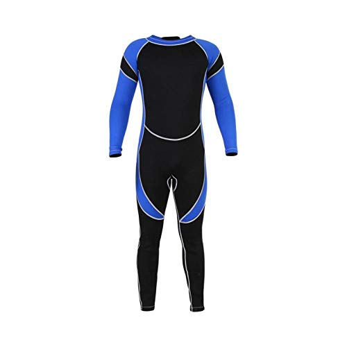 Pwshymi Muta per Bambini Bambini Neoprene Scuba Immersioni subacquee Snorkeling Muta umida Costumi da Bagno da Surf a Maniche Lunghe(12)