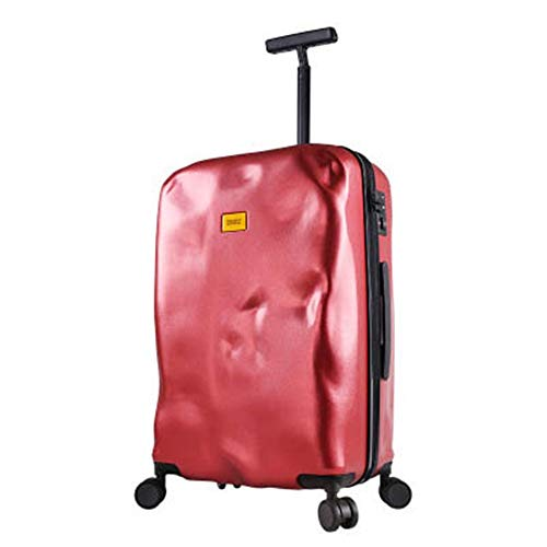Lightweight Trolley Case 18/20/22/24/26/28 Inch Trolley Luggage Suitcase Personality Trolley Case Universal Wheel Ultra Light Suitcase Boarding Case With Spinner Wheels ( Color : Red , Size : 20inch )