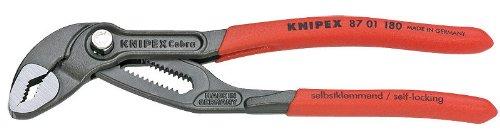 Knipex 87-01-180-SBA - Alicates de punta redonda