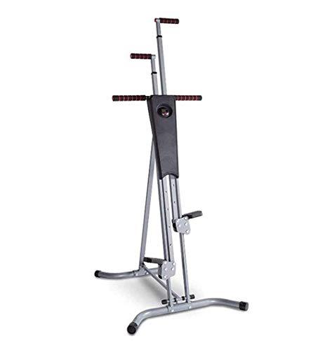 HLLXX Stepper Cardio Climber, Macchinario Arrampicata Verticale Workout, Attrezzo Verticale per Palestra, Pieghevole Design Multifunzionale, Ideale per Esercizi Cardio