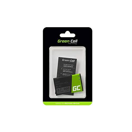 Green Cell BL-4C Handy Akku für Nokia 1661 X2 6230 6300 | Li-Ion Zellen | 900 mAh 3.7V | Ersatz Smartphone Batterie | Markenakku | Volle Kompatibilität | Reale Kapazität | ohne Memory-Effekt |