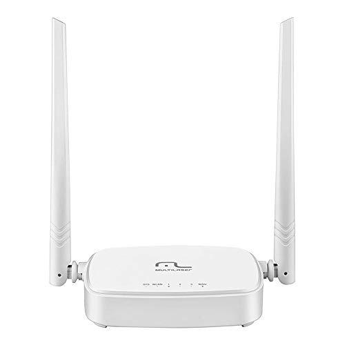 Roteador 300Mbps Ipv6-2.4 Ghz 2 Antenas Branco Multilaser - RE160V