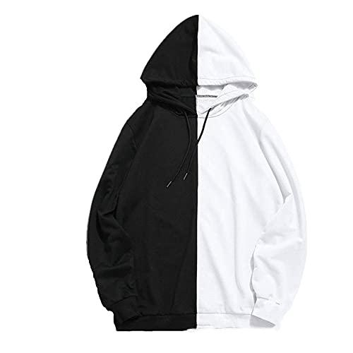 Streetwear Summer Splice Sudadera con capucha The Sharingan de doble color con capucha