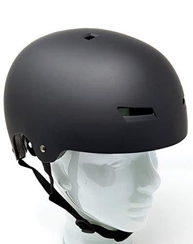 Hi-SHOCK Schutzset für E-Scooter/E-Bikes/Fahrräder/Trottis | Schutzhelm & Knie-, Elbogen-, Handgelenkschützer - schwarz - matt - Größe L | Sicherheitsausrüstung [ABS & EPS]