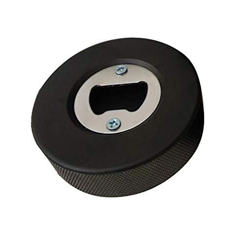 VICV2RO Flaschenöffner für Party, Eishockey, Arbeitsspeicher, Gummi, einfach anzubringen, für Küche, tragbar, rund, multifunktional, praktisch, Wie abgebildet, Free Size