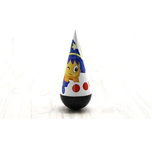 Unbekannt DIY Kunststoff Roly Poly Spielzeug Weihnachten Geburtstagsgeschenke Kinder Interesse Entwicklungsspielzeug