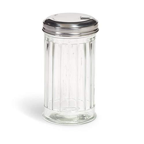 Modern Retro Glass Sugar Dispenser - 10 oz.