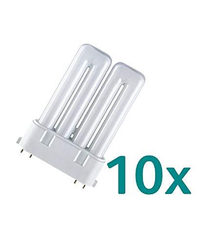 10x Osram Dulux F 36W/827 2G10 Kompaktleuchtstofflampe Warmweiß LUMILUX Interna