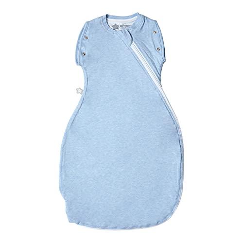 Tommee Tippee Babyschlafsack Snuggle, Sommerschlafsack, Original-Grobag, 0-4m, 51 -62cm, 1.0 Tog, Blau