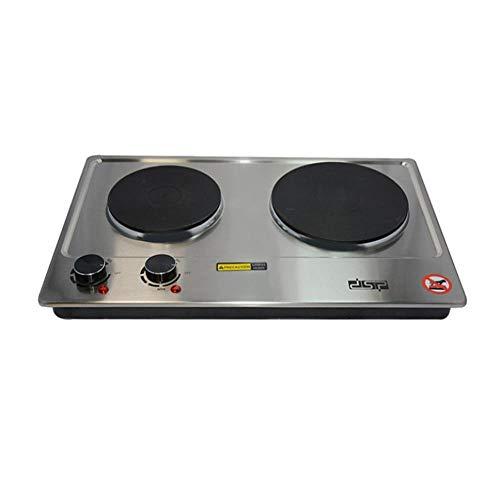 Placa Inducción Portátil - Placa Eléctrica De Cocción Doble 2500W Control De...
