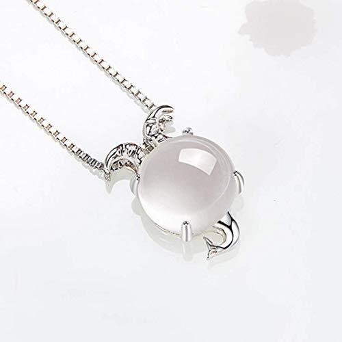 Collares para muchachas de las mujeres de Capricornio Collar de plata 925 para el collar de cumpleaños de las mujeres de la constelación del zodiaco 12 Horóscopo Astrología regalo pendiente Garga