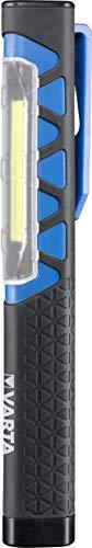 Varta Work Flex Pocket Light mit 3AAA Batterien - Arbeitsleuchte für ideale Raumausleuchtung, Werkstatt, Auto, Arbeitshilfe