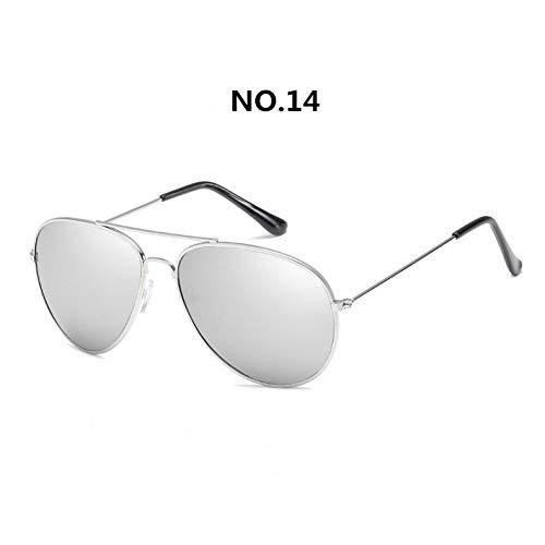 Taiyangcheng Sonnenbrillen Herren Metallrahmen Sonnenbrillen Zonnebril Brillen Unisex Oogkleding Mannelijk